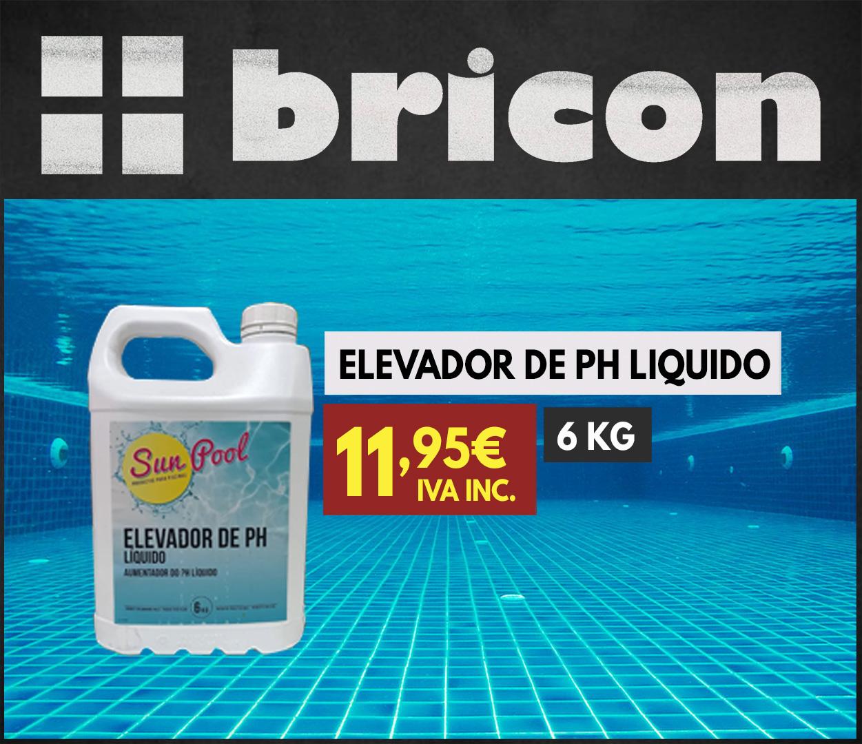Elevador de PH líquido