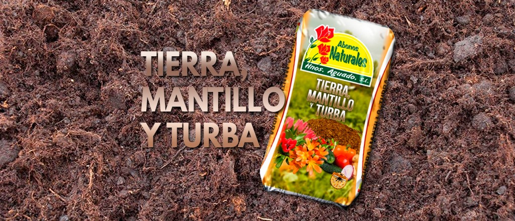 Tierra, mantillo y turba