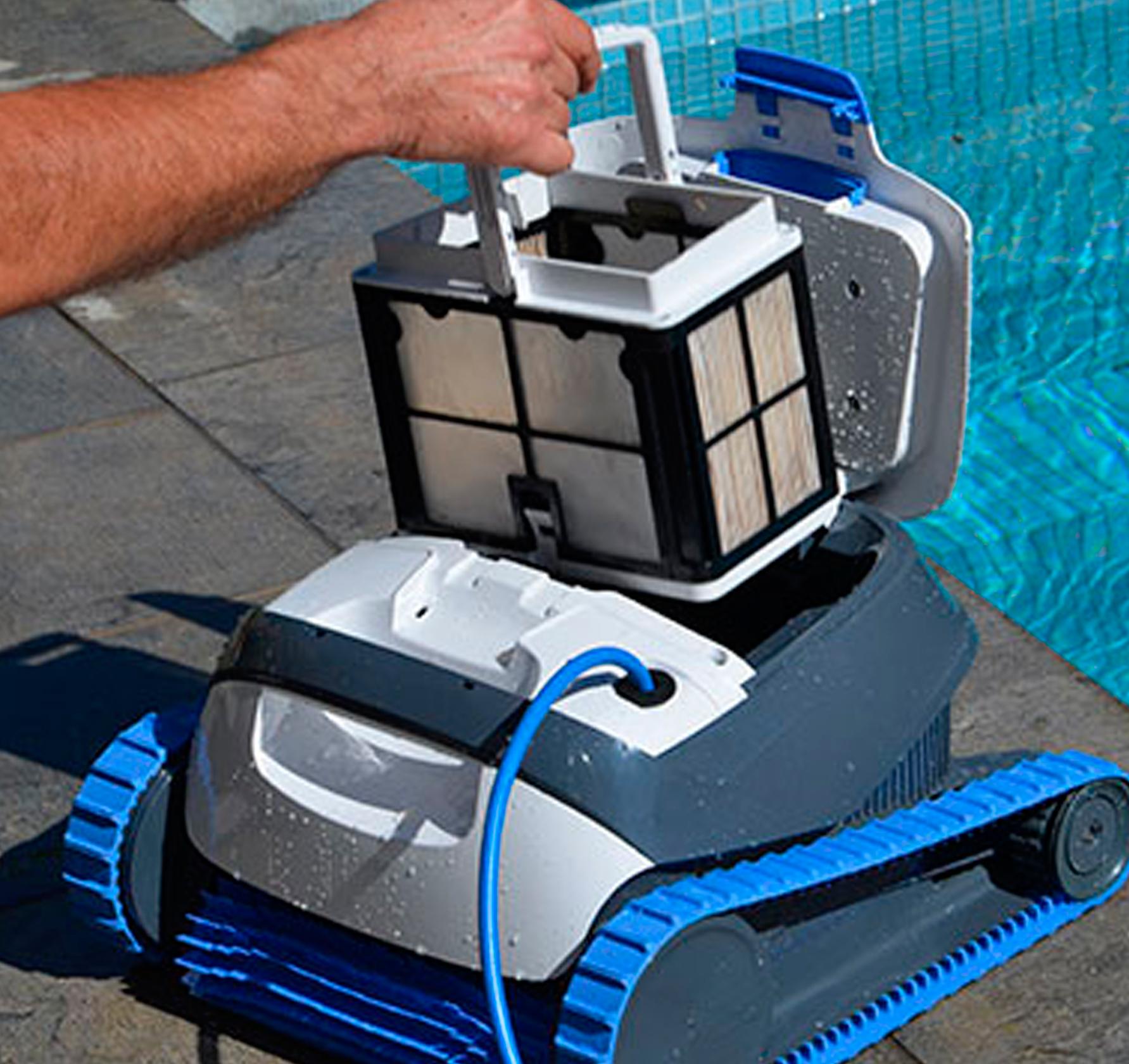 Cesta de robot piscina Dolphin S100