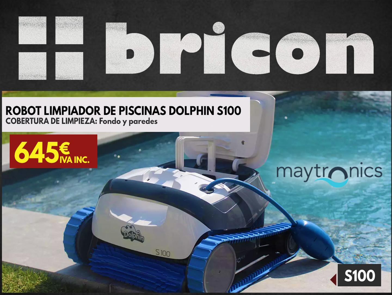 Robot de piscina Dolphin S100