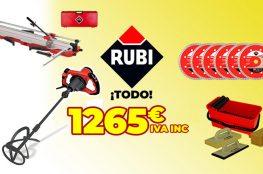 Lote de productos Rubi