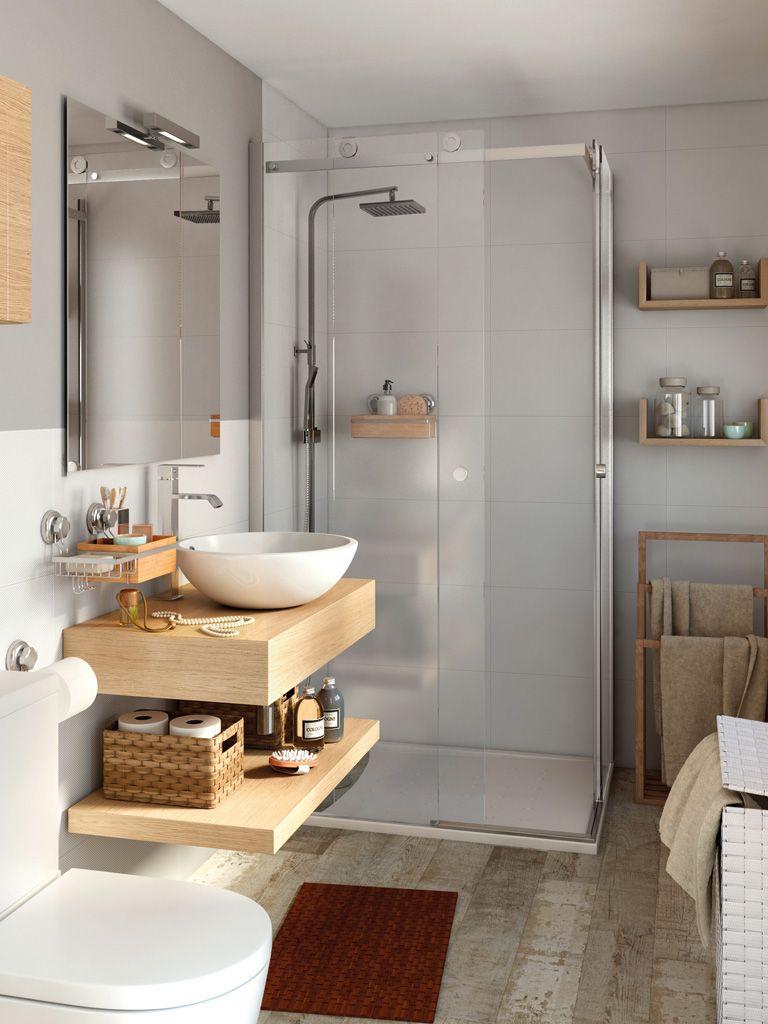 espacio de baño pequeño