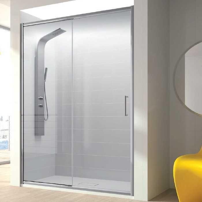 Mampara de ducha fijo puerta corredera