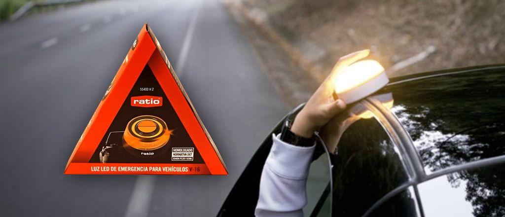 Luz emergencia V-16 Help Flash en Cáceres