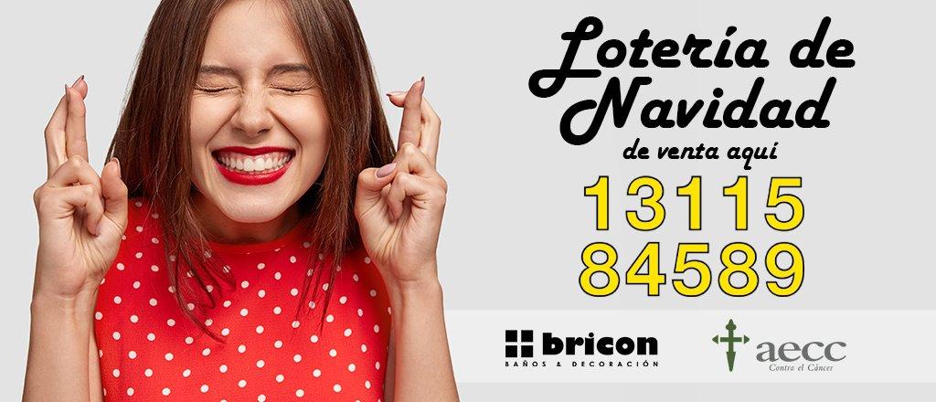 Lotería Navidad BRICON Cáceres